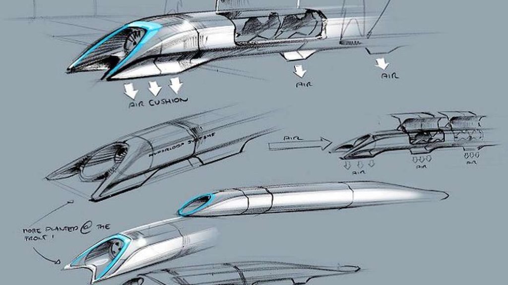 Hyperloop Alpha concept