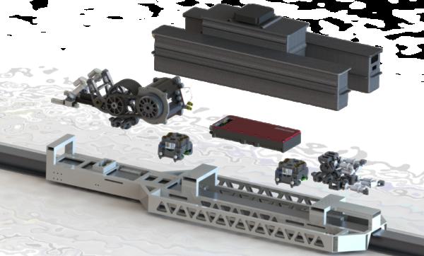 Pod I technical parts