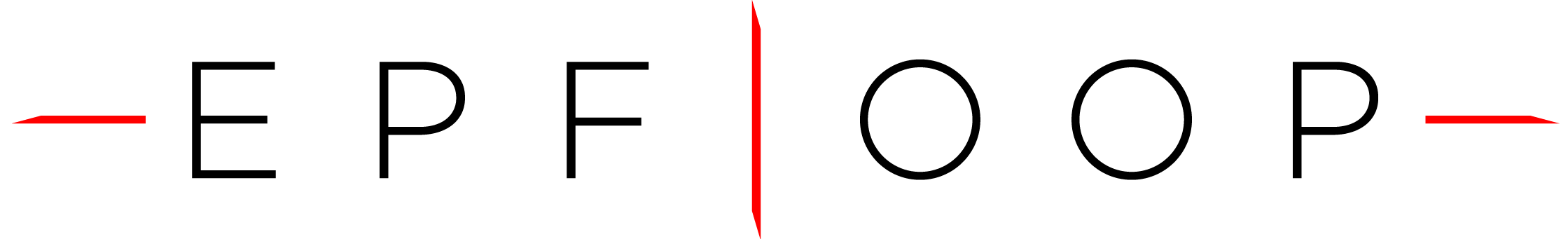 EPFLoop logo font black