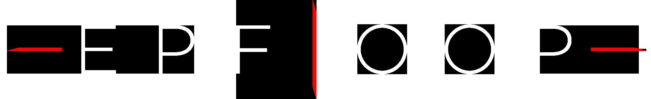 EPFLoop logo font white